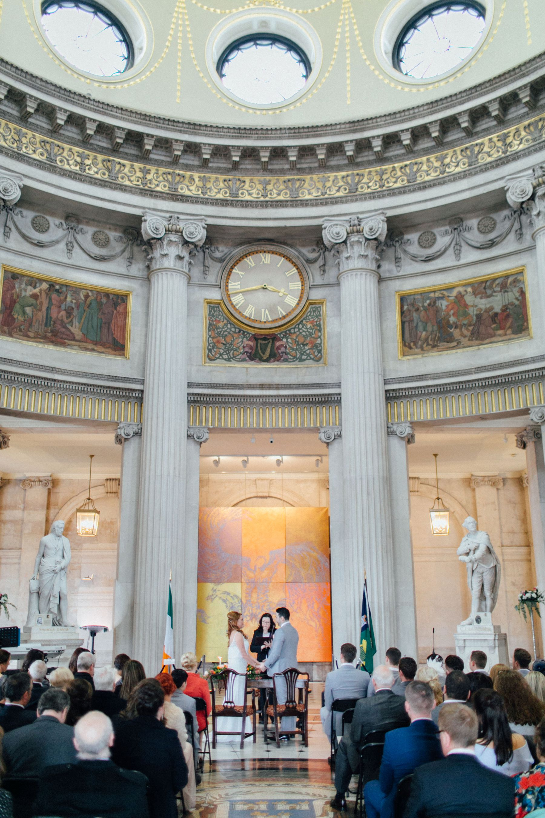 Intimate Dublin City Wedding Peter Carvill Photography